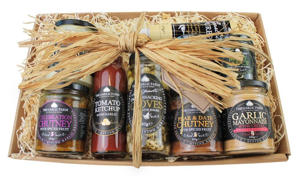 Isle of Wight Garlic Farm hamper