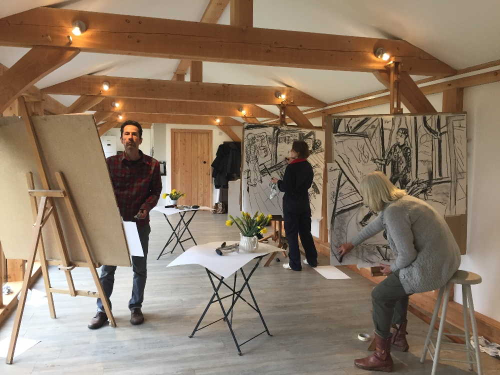 Hampshire Art Studio art courses