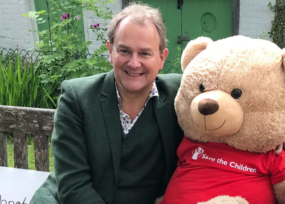 Hugh Bonneville local celebrity Petersfield fund raising volunteer
