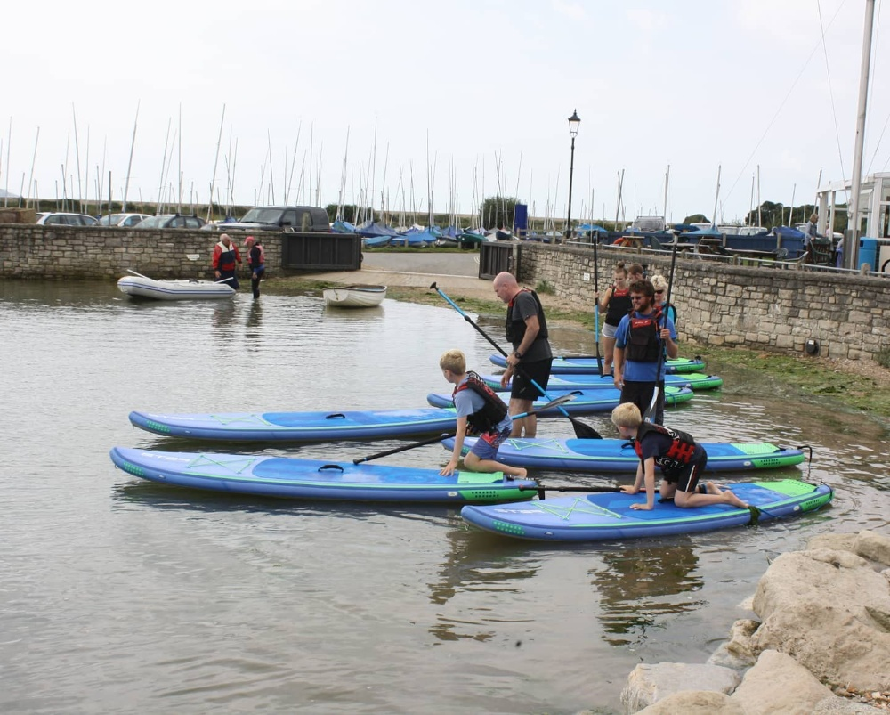 The New Forest Paddle Board Sport Company kids activities days out