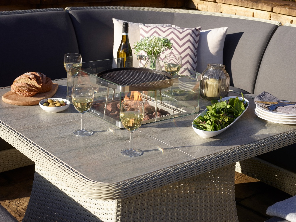 Sofa outdoor garden dining Spring Summer