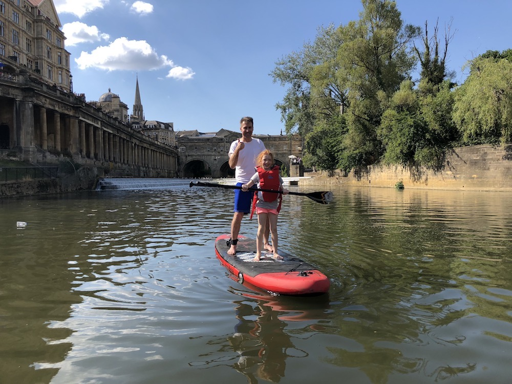Paddleboarding SUP in Bath ideas day trips meetups