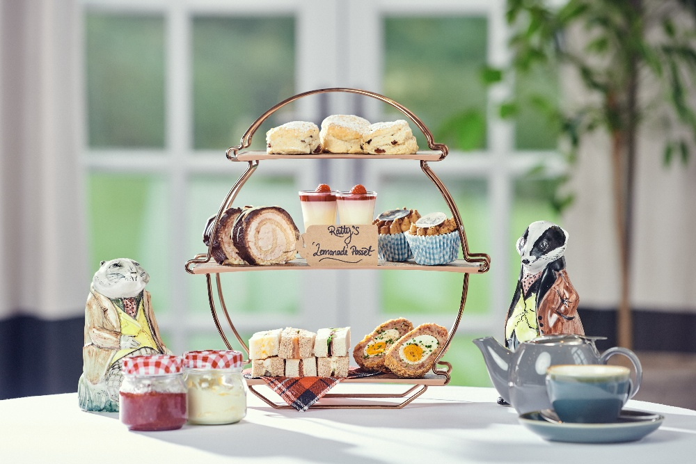 Afternoon Tea New Park Manor Wind in the Willows children's New Forest