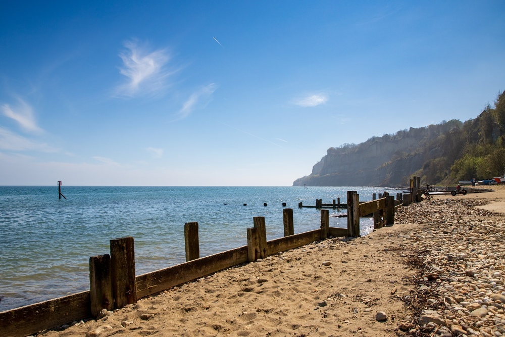 Shanklin beach Isle of Wight Fisherman's Cottage