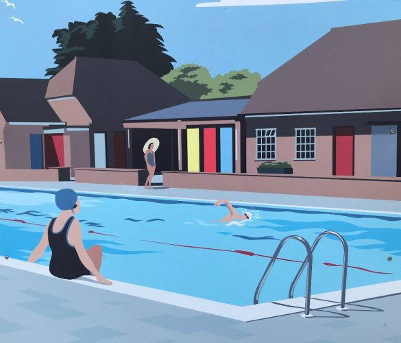 Petersfield open air pool