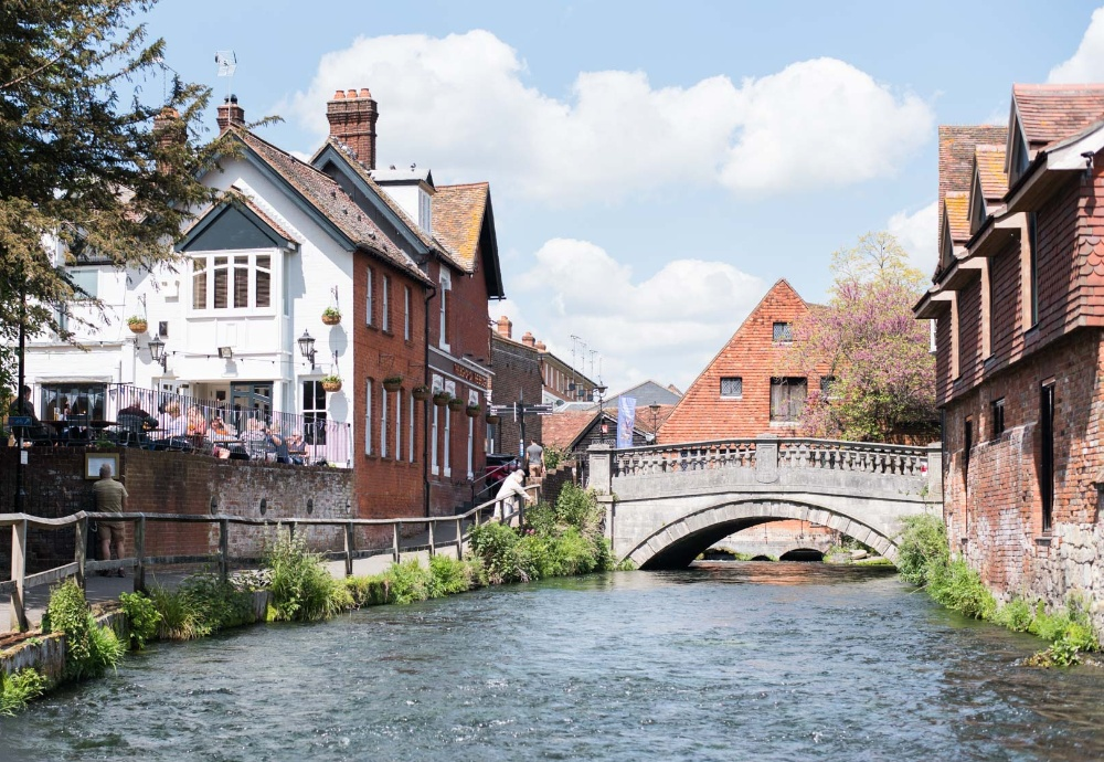 The Bishop on the Bridge Winchester