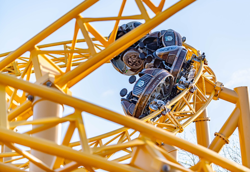 Rollercoaster Paultons Park Tornado Springs half term days out hampshire