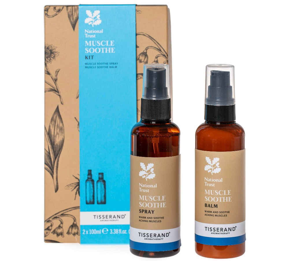 National Trust Lavender Muscle beauty products