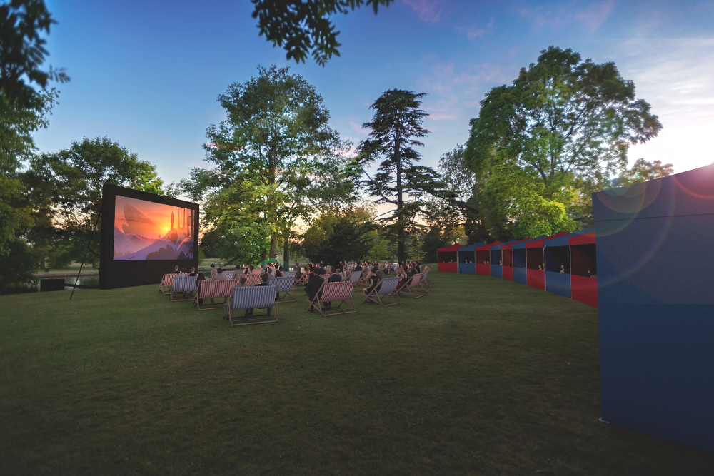Outdoor film movie Hampshire what's on September Summer Screens