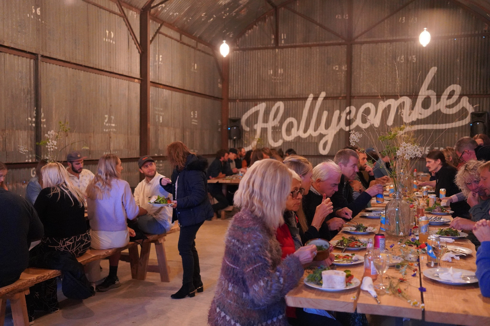 Hollycombe Farm Liphook pop up foodie event Hampshire Autumn Whats on October