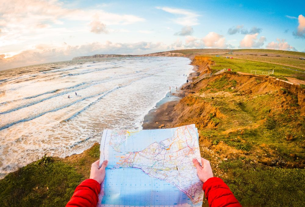 Map Isle of Wight Walking Festival what's on October events Isle of Wight