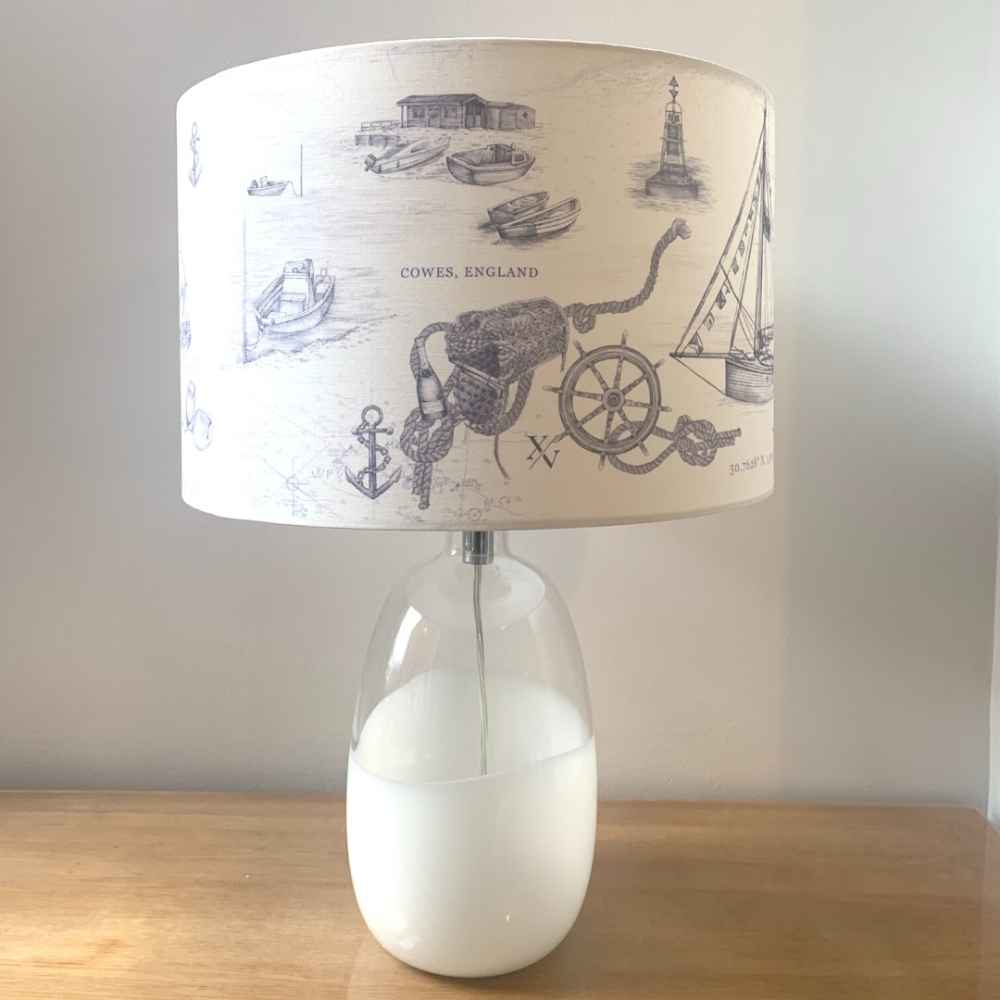 XV Stripes cowes lamp home accessories
