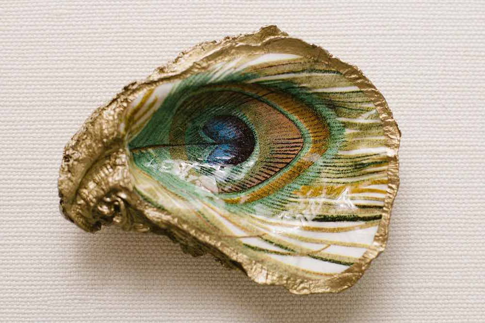 Oyster shell ring tray H&B Style